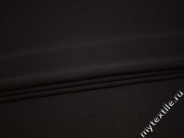 Костюмная коричневая ткань шерсть ГД439