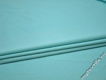 Лен однотонный голубой ВБ452