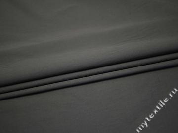 Костюмная серая ткань хлопок ГГ440