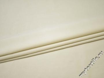 Костюмная молочная ткань хлопок эластан ГГ533