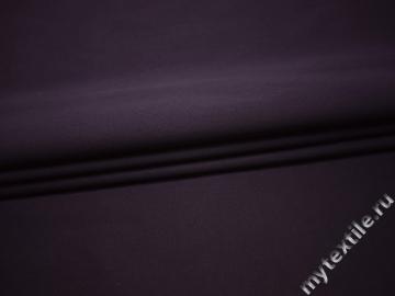 Костюмная фиолетовая ткань хлопок эластан ВЕ560