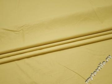 Кожзаменитель желтый полиэстер ГЕ151