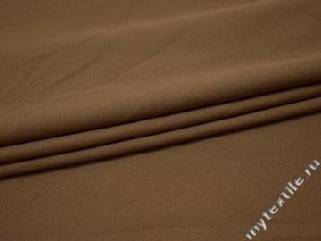 Костюмная бежевая ткань хлопок полиэстер эластан ГГ434