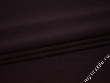 Костюмная тёмно-фиолетовая ткань хлопок полиэстер эластан ВЕ323