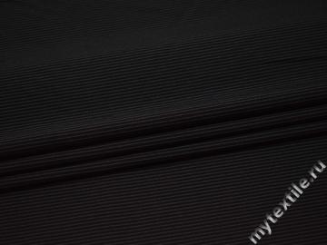 Костюмная цвета хаки ткань хлопок эластан ВЕ336
