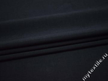 Костюмная синяя ткань полиэстер ВЕ310