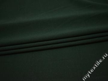 Костюмная зеленая ткань полиэстер вискоза ГГ46
