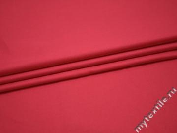 Костюмная розовая ткань полиэстер вискоза ГГ48