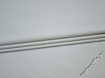 Костюмная голубая ткань хлопок полиэстер ГГ412
