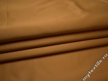 Костюмная золотая ткань полиэстер ВД128