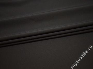 Костюмная серая ткань вискоза полиэстер эластан ВД134