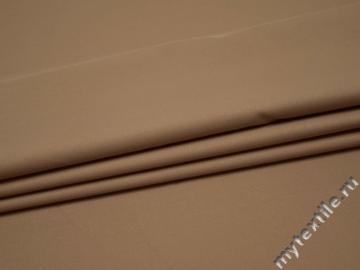 Костюмная бежевая ткань вискоза полиэстер ВД141