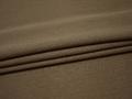 Костюмная фактурная коричневая ткань полиэстер ВД113