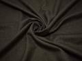 Костюмная фактурная хаки ткань шерсть полиэстер ГД263