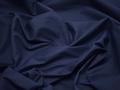Костюмная синяя ткань хлопок эластан ВД37