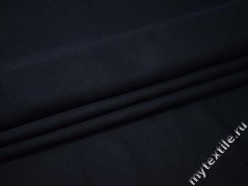 Пальтовая синяя ткань полиэстер ВД127