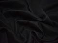 Костюмная черная ткань хлопок ВД235
