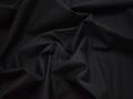 Костюмная черная ткань хлопок ВД236