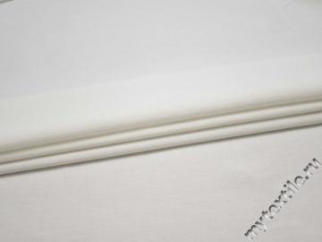 Костюмная белая ткань хлопок ВД241