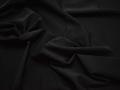 Костюмная черная ткань полиэстер эластан ВД233