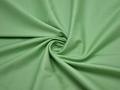 Костюмная зеленая ткань вискоза хлопок эластан ВД229