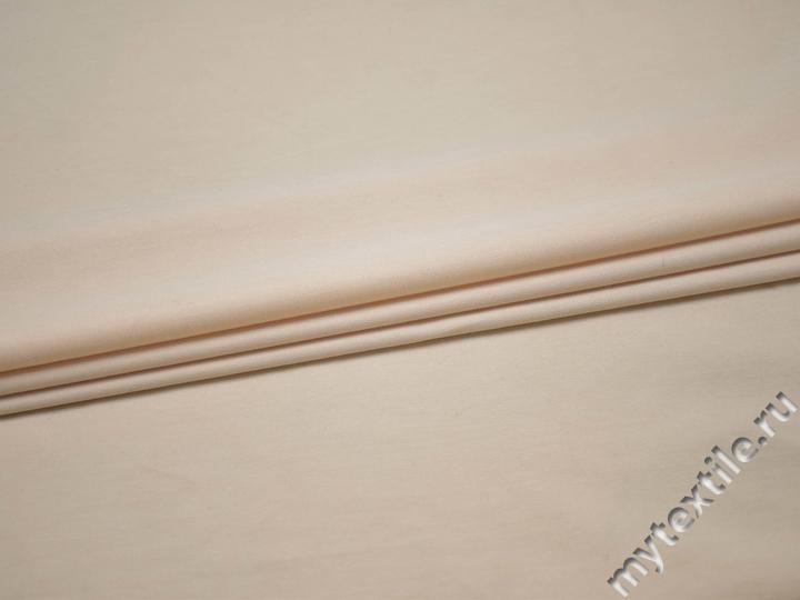Костюмная персиковая ткань хлопок ВД213
