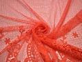 Кружево полиэстер узор  цветы БА544