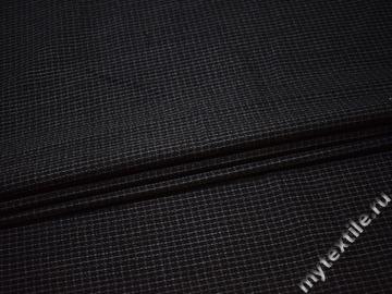 Костюмная ткань полоска шерсть полиэстер ГД120