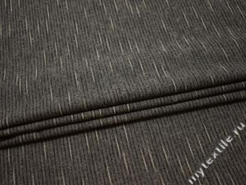 Костюмная ткань полоска шерсть полиэстер ГД117