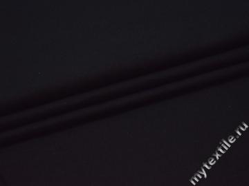 Костюмная черная ткань хлопок ВБ542