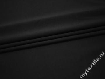 Костюмная серая ткань хлопок полиэстер эластан ВБ510