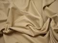 Костюмная фактурная бежевая ткань хлопок ВБ49