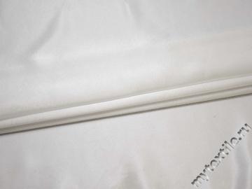 Креп-сатин белый полиэстер ГБ1128