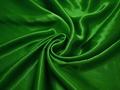 Креп-сатин зеленый полиэстер ГБ1129