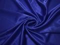 Креп-сатин синий полиэстер ГБ1140