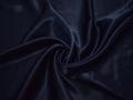 Креп-сатин синий полиэстер ГБ1143