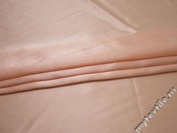 Креп-сатин пыльно-розовый полиэстер ГБ158