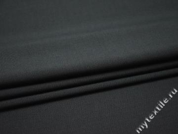 Костюмная серая ткань шерсть полиэстер ДЕ329