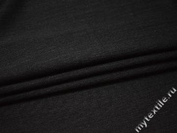 Костюмная темно-серая ткань шерсть полиэстер ДЕ323