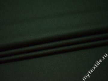 Костюмная зеленая ткань шерсть полиэстер ДЕ314