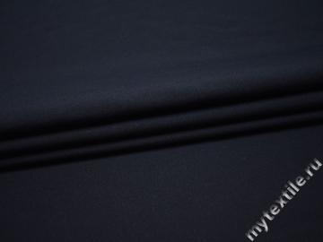 Костюмная синяя ткань шерсть полиэстер ДЕ321