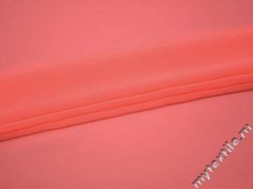 Шифон однотонный розовый полиэстер японский ГБ2-107