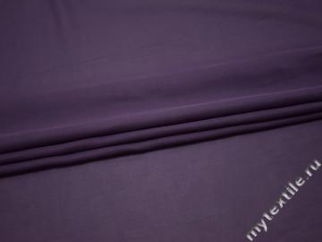 Шифон однотонный фиолетовый полиэстер ГБ2120