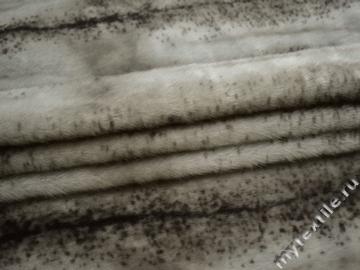 Мех серый полиэстер ДВ48