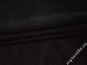 Мех черный шерсть полиэстер ДВ426