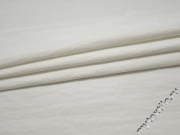 Курточная белая ткань полиэстер БЕ326