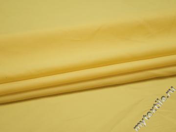 Курточная лимонная ткань полиэстер БЕ34