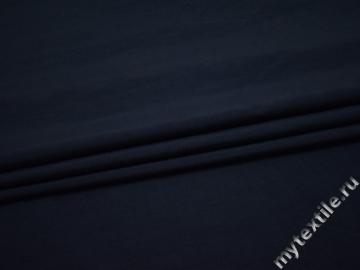 Курточная синяя ткань полиэстер БЕ31