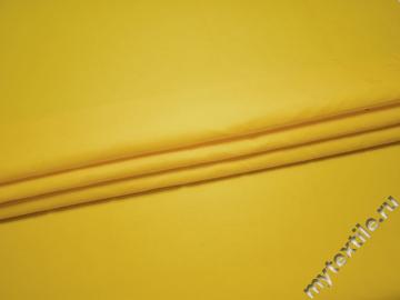 Курточная желтая ткань полиэстер БЕ311