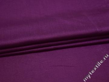 Плательная фиолетовая ткань вискоза полиэстер БА271